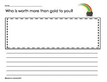 St. Patrick's Day Writing - worth more than gold