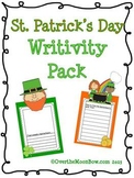 St. Patrick's Day Writivity Pack