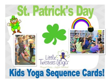 St. Patrick's Day Yoga Movement Cards!