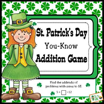 St. Patrick's Day You-Know Addition