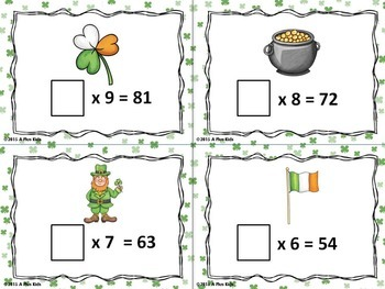 St. Patrick's Day You-Know Multiplication