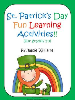 St. Patrick's Day activities for grades 1-3