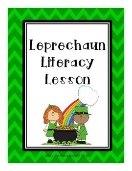 St. Patrick's Day and Leprechaun Literacy Lesson
