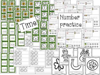 St. Patrick's Day bundle ~ Math and Literacy