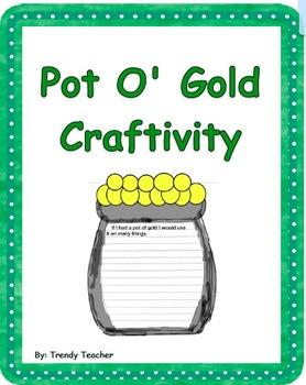 St. Patrick's Day craftivities