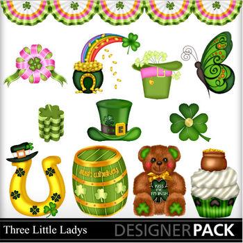 St Patricks Day elements