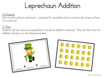 St Patrick's Day for Preschool