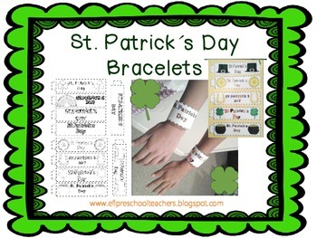 St. Patrick´s Day for Preschool ELL