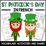 St. Patrick's Day Activities and Games in French