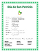 Spanish St Patrick's Day- Word Search and Double Puzzle &