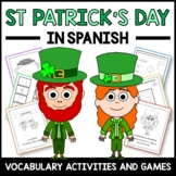 St. Patrick's Day Activities and Games in Spanish