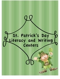 St. Patrick's Day literacy and writing center