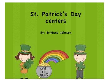St. Patrick's Day literacy unit