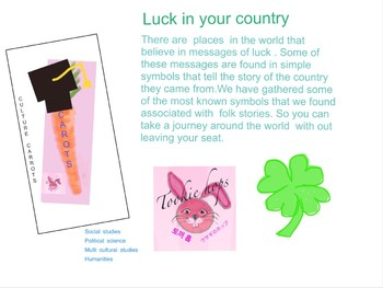 St Patricks Day luck around the world activity packet