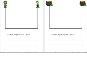 St. Patrick's Day making words and writing activities