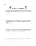 St. Patrick's Day subtraction word problems Common Core aligned 2.OA1