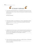 St. Patrick's Day subtraction word problems Common Core al