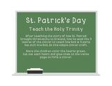 St. Patrick's Day: teaching the Holy Trinity