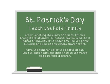 St. Patrick's Day: teaching the Holy Trinity