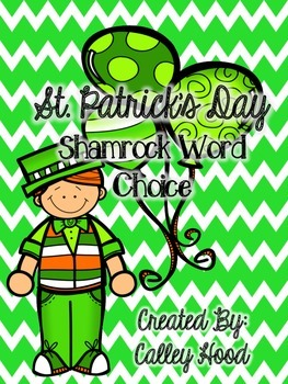 St. Patrick's Day word choice