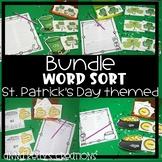 St. Patrick's Day word sort, (oi,oy, ou, ow,ir, er, ur, dge, ge)