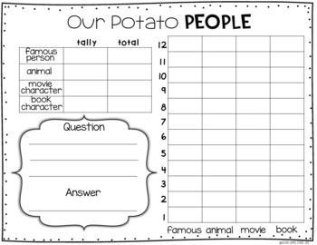 St. Patrick's Day writing ~ Potato Parade