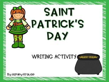 St. Patrick's Day - writing activity {FREEBIE}