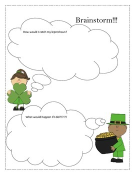 St. Patrick's Day writing Narrative prompt (Common Core)
