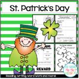 St. Patrick's Day Theme with Balanced Literacy!