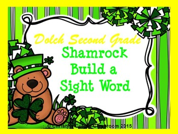 St. Patrick's Dolch Build a Sight Word--Second Grade