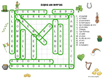 St. Patricks  Escape Spanish