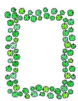 St. Patricks Frame