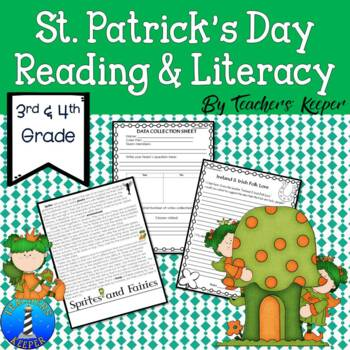 St. Patrick's Day Lore, Connecting Math and Literacy