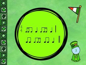 St Patrick's Gumball - A Game for Practicing Ti-Ti-ka and Ti-ka-Ti  (2 bars)