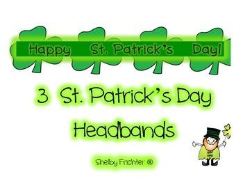 St. Patricks Headbands - Your Choice of 3