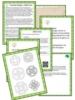 Ireland Culture & Facts Literacy Cross-Curricular Lessons