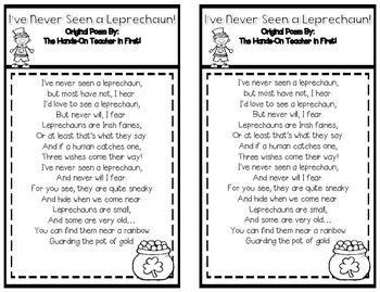 St. Patrick's: Leprechaun Loot {Snack, Math, Writing}