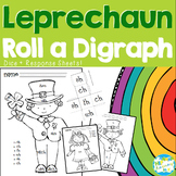St. Patrick's Day Leprechaun Roll a Digraph Coloring Activity