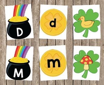 St. Patrick's Letter Sound Cards A-Z