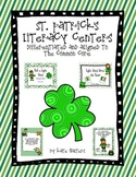 St. Patrick's Literacy Center Bundle {Aligned to the Common Core}