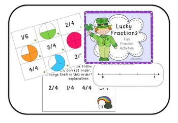 St. Patrick's Lucky Fractions