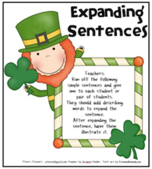 St. Patrick's Lucky Sentences