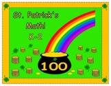 St. Patrick's Math K-2
