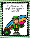 St. Patrick's Math and Literacy Centers {Aligned with Common Core}