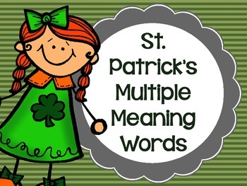 St. Patrick's Multiple Meaning Words