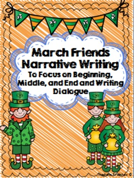 St. Patrick's Narrative Writing and Puppet Craft