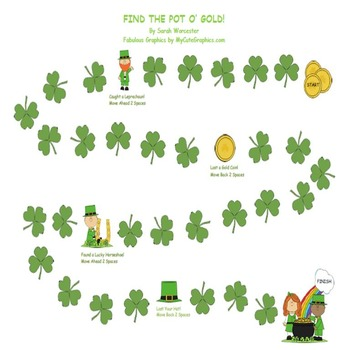 St. Patrick's Day - Open Ended Game Board
