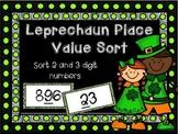 St. Patrick's Place Value Sort