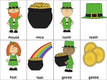 St. Patrick's Plurals