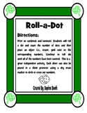 St. Patrick's Roll a Dot Game